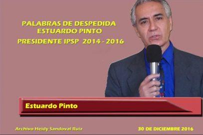 Estuardo Pinto agradece a los afiliados  el apoyo brindado en su gestión