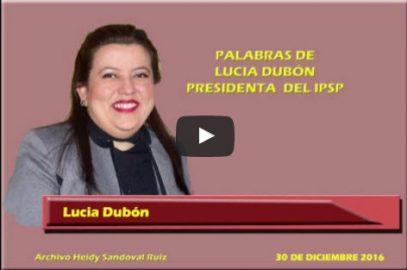 Estuardo Pinto Torres y Lucia Dubón López dirigieron mensajes a las y los afiliados