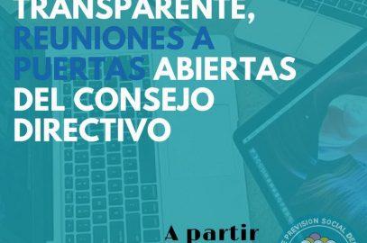 Sesiones del Consejo Directivo serán públicas