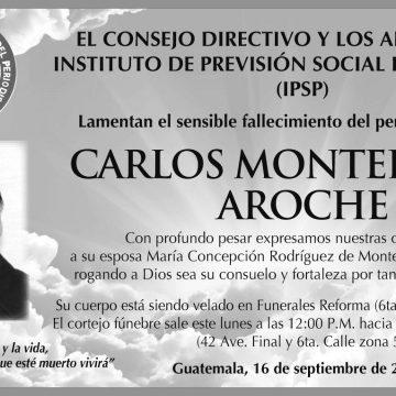 (+) Carlos Monterroso Aroche 16-sep-2018