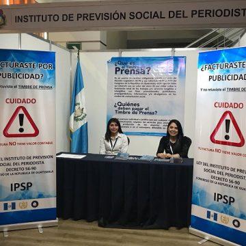 IPSP promociona el pago del Timbre de Prensa