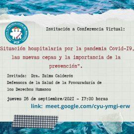 Conferencia: «Situación hospitalaria por la pandemia Covid-19»